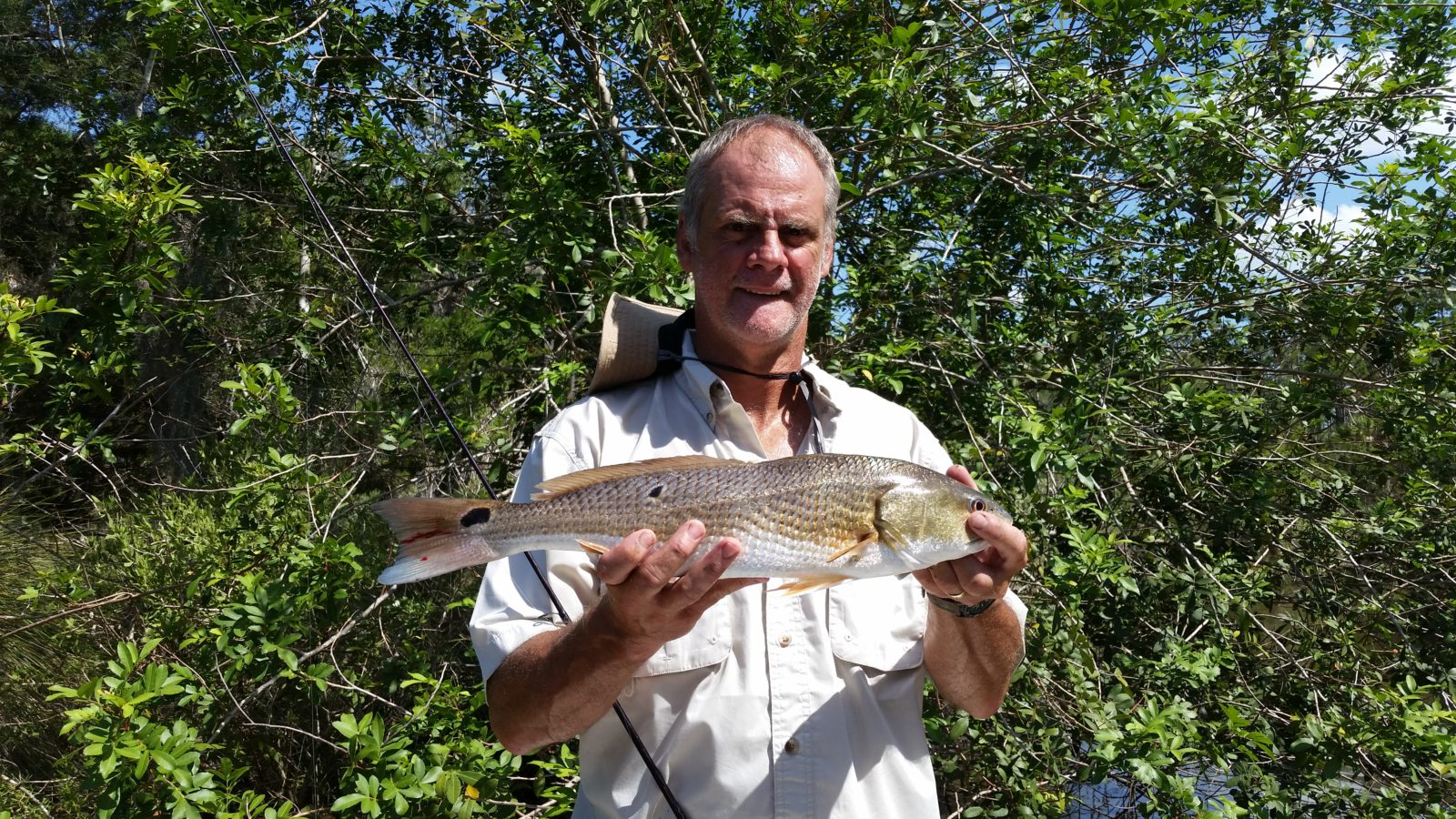 Another first Redfish caught in Tomoka State Park